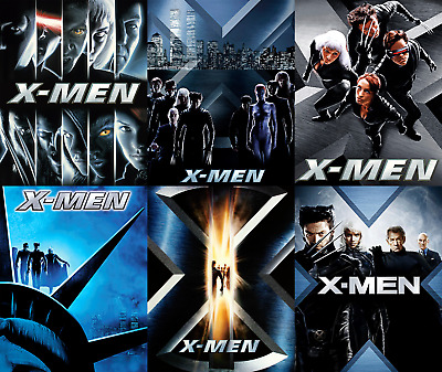 Magnetic cover art for X-men Steelbook Blu-ray