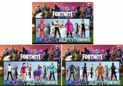 NEW 4Pcs Fortnite Battle Game Royale Save The World Action Figures Kids Toy Gift