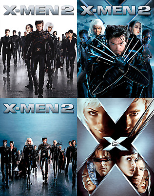 Magnetic cover art for X-men 2 Steelbook Blu-ray