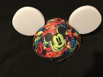 Disney Parks Exclusive Light Up Mickey Ears Hat Colour Changing