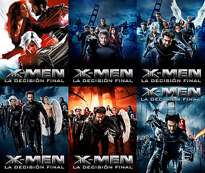 Magnetic cover art for X-men 3 Steelbook Blu-ray Multi language