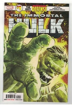 IMMORTAL HULK: THE Best Defense #1 - Ron Garney Cover