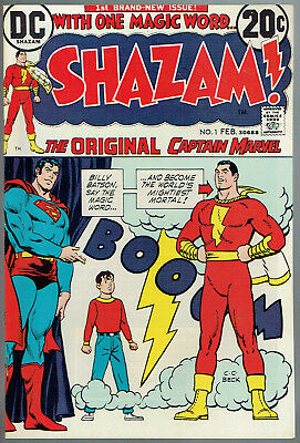 SHAZAM  1  VF/ NM/9.0  -  1st appearance Captain Marvel since Golden Age!
