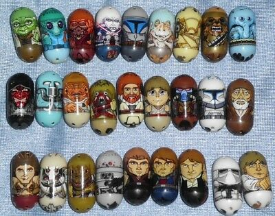 Lot of 27 Star Wars Mighty Beanz NEW
