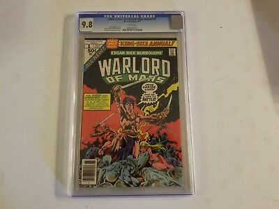 John Carter Warlord Of Mars Annual 1 CGC Graded 9.8 Dejah Thoris