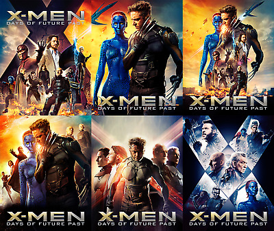 Magnetic cover art for X-men X-Men: Days of Future Past Steelbook Blu-ray
