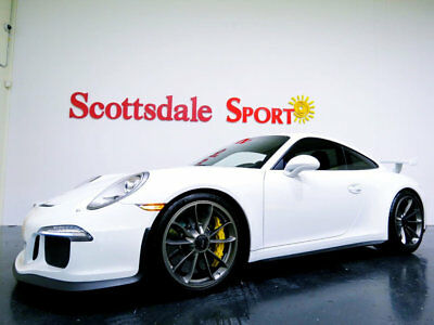 2015 Porsche 911 GT3 * ONLY 1,808 Miles...Big Options! 2015 GT3 w ONLY 1,808 MILES, CERAMIC'S, LIFT, CARBON FBR RACE SEATS, STUNNING!!