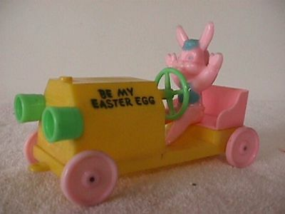 Rosbro  Easter  Car  With  Bunny  Driving