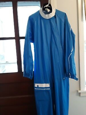 Vintage BMW One Piece Car Racing Suit, Made In West Germany, Excellent Condition