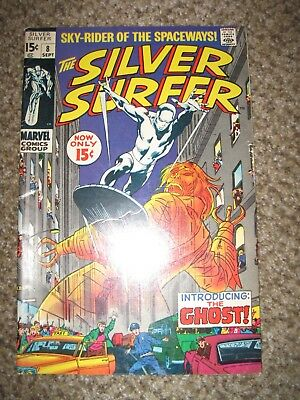 Silver Surfer 8 The Ghost - High Grade Very Fine 8.0