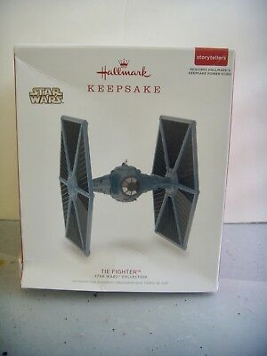Hallmark Keepsake Storytellers Ornament 2018~Star Wars~Tie Fighter~Brand New~Htf