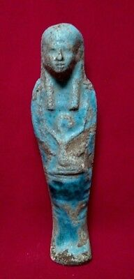Ancient Egyptian Antiques Ushabti (500 BC)