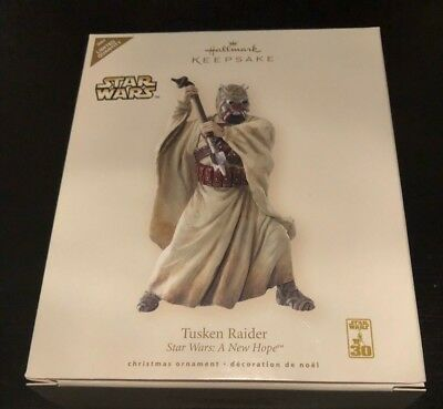 Star Wars Tusken Raider Ornament Hallmark 30Th Anniversary Exclusive Limited