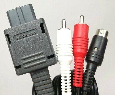Official Nintendo S-Video Cable SHVC-009 for Super Famicom, Game Cube, N64