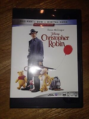 Christopher Robin (2018) DVD ONLY *** The disc has never been watched ***