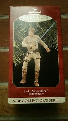 1996 Hallmark keepsake ornament Luke Skywalker Star Wars. QXI5484.