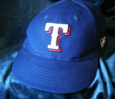 USED BUT NICE TEXAS RANGERS Embroidered TeamMLB Baseball Cap by QC Sports