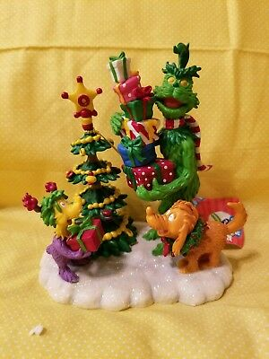 The Grinch & Max With Whozit Christmas Figure By Westland NEW IN BOX.