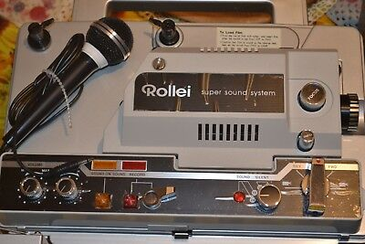 Vintage Rollei Projector P8400S magnetic