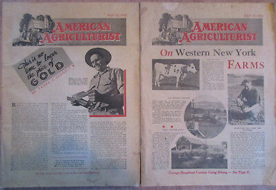 American Agriculturist, May/July 1937 Editions!