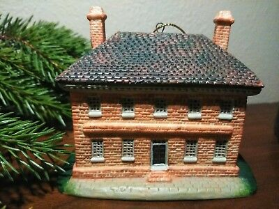 Lang And Wise Williamsburg George Wythe House Ornament