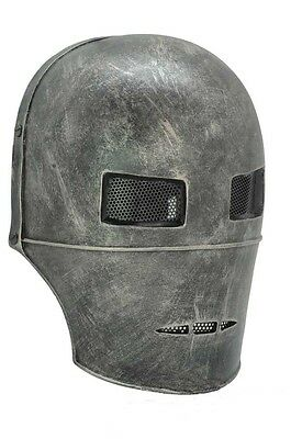 NEW Full Face Protection Coarse Iron Man Mask PROP Cosplay Paintball CS Airsoft