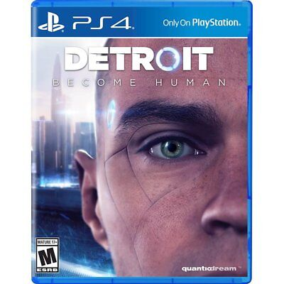 PS4 Detroit Become Human Brand New Factory Sealed Playstation 4