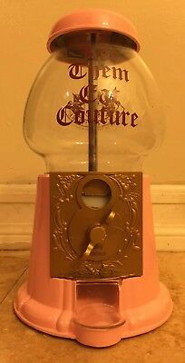Juicy Couture Gumball Machine Pink Let Them Eat Couture Bubble Gum EXCELLENT!