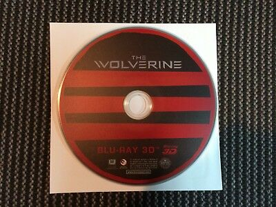 The Wolverine 3D Blu-ray - Disc Only.