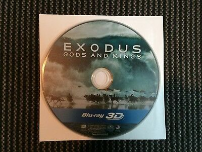 Exodus Gods and Kings 3D Blu-ray - Disc Only.