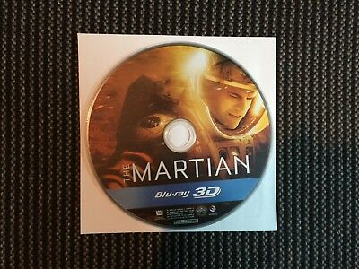 The Martian 3D Blu-ray - Disc Only.