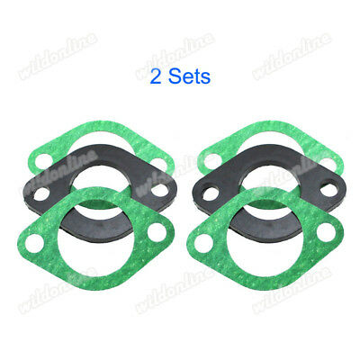 Intake Manifold Spacer Insulator Gasket Chinese GY6 125cc 150 Go Kart ScooterATV
