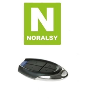 NORALSY - TELP433-6 - Télécommande HF LINX portail / garage 4 canaux 433MHz