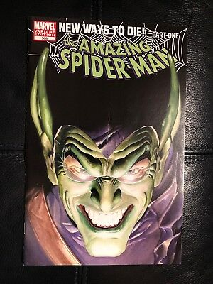 The Amazing Spider-Man #568 Alex Ross Variant 9.4 NM (October 2008, Marvel)