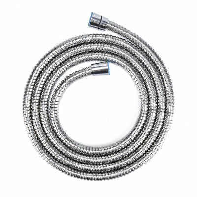 2M Shower Head Hose Handheld Extra Long Stainless Steel Bathroom Flexible Pipe#I