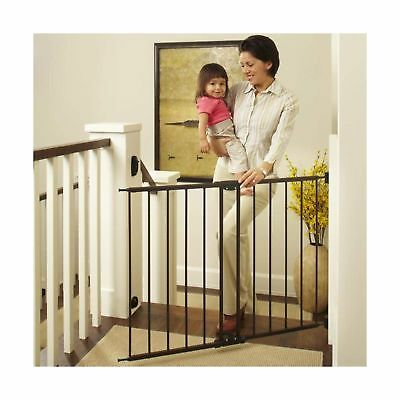"Supergate Easy Swing Lock Gate Baby Pet Dog 28.68/"" to 47.85/"" W 31/"" Tall 3DAYSHIP"