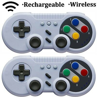 2PCS Bluetooth Wireless Pro Game Controller Gamepad For Nintend Switch Console
