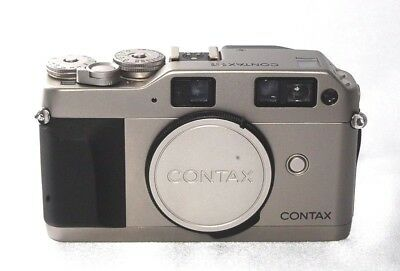 Contax G1 35mm Rangefinder Film Camera Body From Japan [Near Mint]