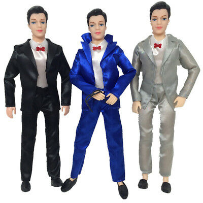 5PCS Doll Clothes Casual Wear Jackets Pants Outfit For Doll Boyfriend Ken US