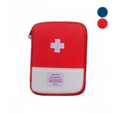 Outdoor Travel Practical Medicine Storage Bag Emergency First Aid Pouch Bag 1PC