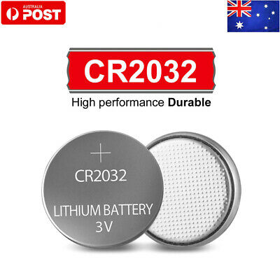 5 Brand New CR2032 Lithium Battery Button Cell 3V Expiry 2020