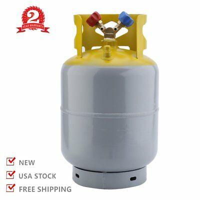 Refrigerant Recovery Reclaim 30lb Cylinder Tank 400 PSI R410A Rated BR