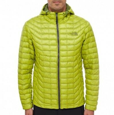ca64a4f7d5da Giacca The North Face Thermoball hoodie Size S Venom Yellow Piumino Jacket  New