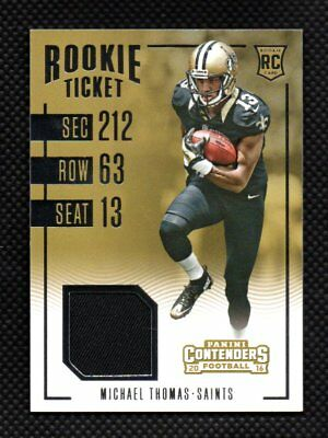 Cheap MICHAEL THOMAS JERSEY #13 New Orleans Saints Football Stitched S M L  for cheap