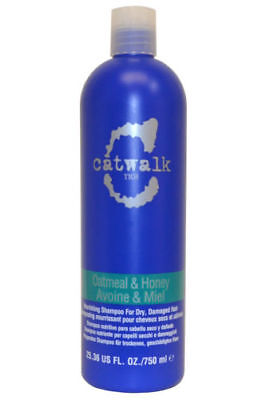 TIGI Catwalk Oatmeal & Honey Shampoo For Dry Damaged Hair 750ml