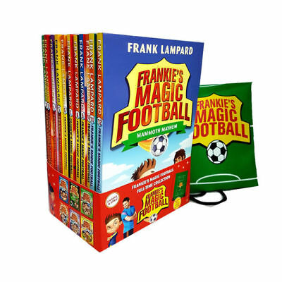Frankie's Magic Football Collection Frank Lampard 12 Books Set Pack With Bag New