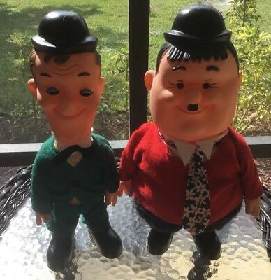 1973 Berman And Anderson Laurel And Hardy Dolls