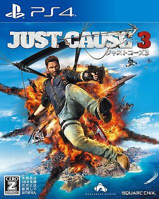 PlayStation 4 Just Cause 3 VIDEO GAMES Japan Used