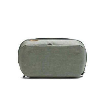 Peak Design Wash Pouch - Sage. Toiletry Cosmetic Bag for 45L Travel Backpack