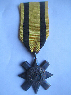 Original. Gold Coast Campaign. Ashanti Star 1896. Medal. Unnamed as issued.